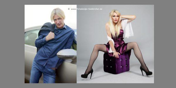 Fotoshooting Transgender Transfrau Shemale Transsexuelle Crossdresser in Düsseldorf NRW