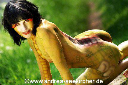 bodypainting fotoshooting düsseldorf nrw