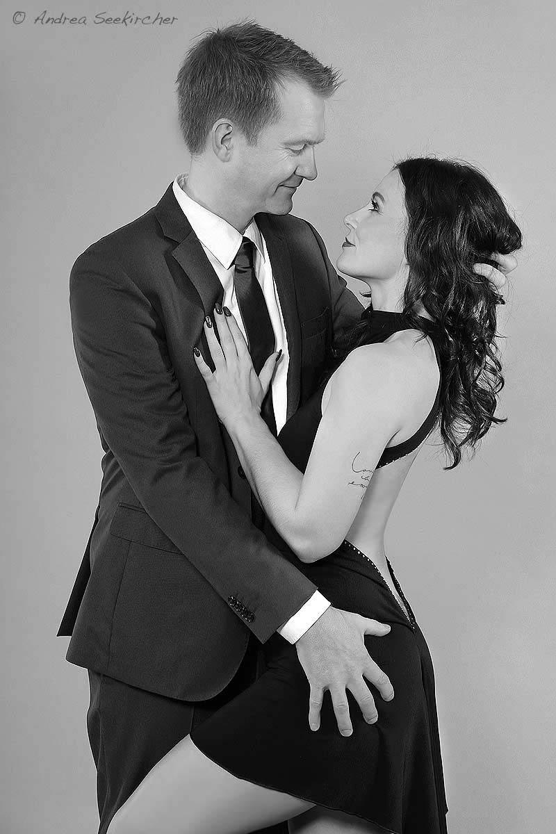 Erotisches Paarfotos in einem Paare Fotoshooting in