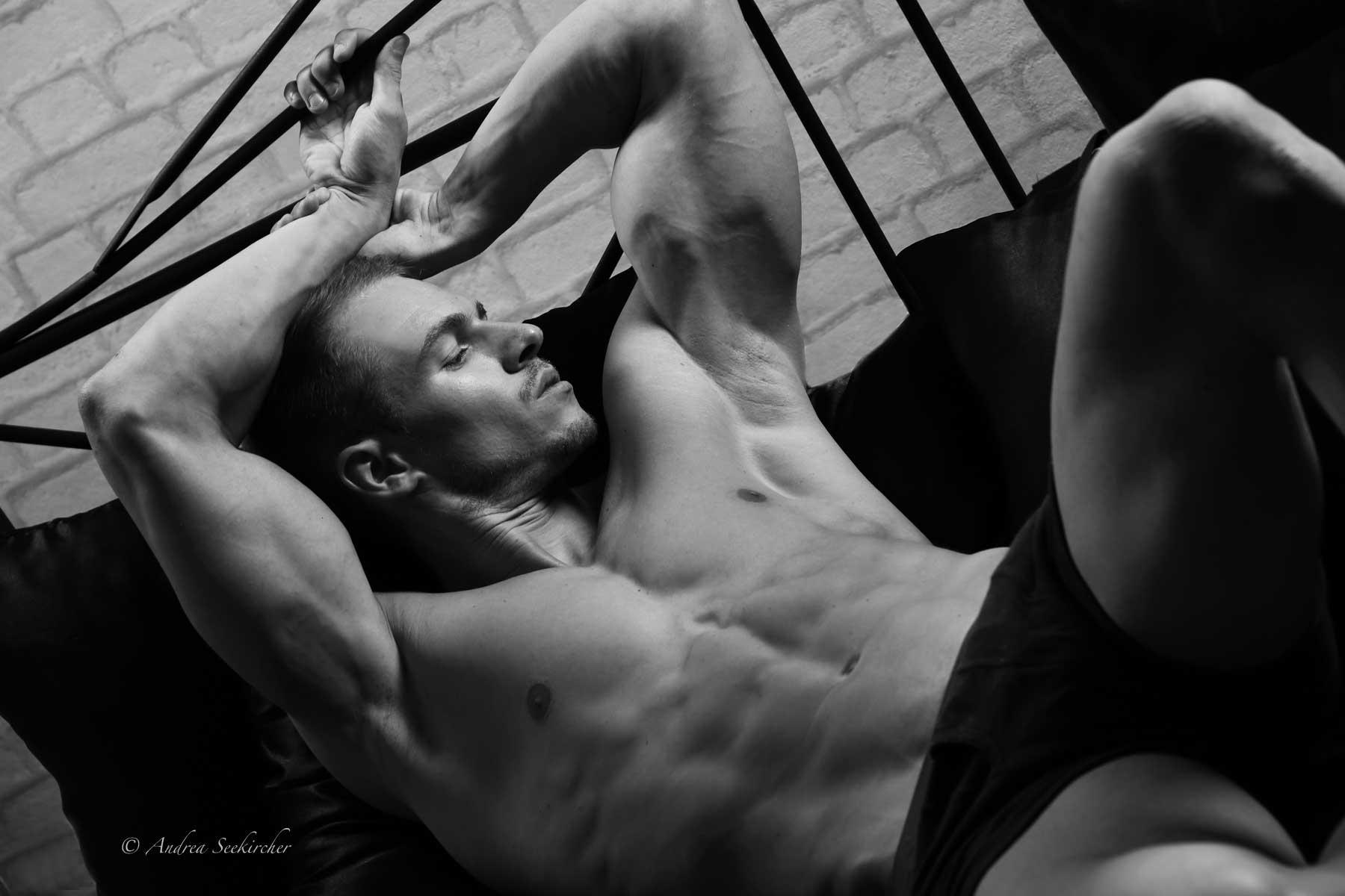 männer bodybuilder aktfotografie