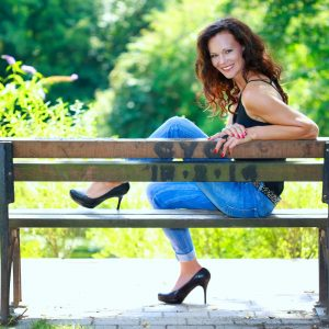 Outdoor-Shooting im Park