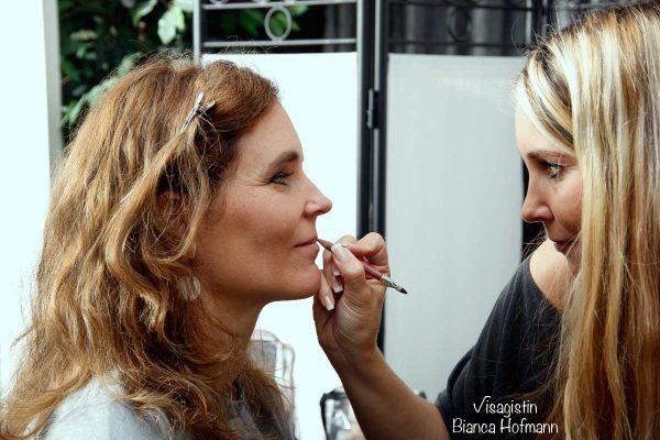 Visagistin Bianca Hofmann in Düsseldorf - Mobiles Brautstyling Braut Make up