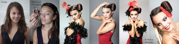 Glamour Fashion Fotoshooting bei Andrea Seekircher