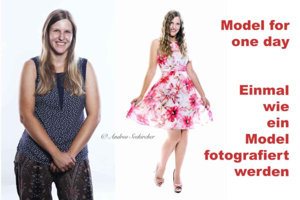 model for one day fotoshooting