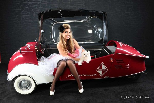 Retro Vintage Pin-up-Fotoshooting