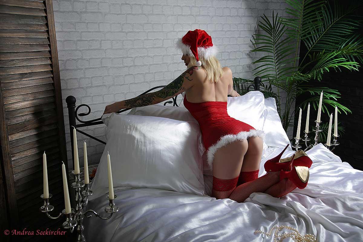 fotoshooting sexy nikolaus weihnachtsmann nikoläusin geschenk