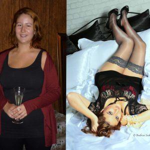 Vorher-Nachher-Fotoshooting Model Prinzess for one day Düsseldorf Köln NRW