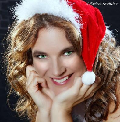 Weihnachtsmützenfoto