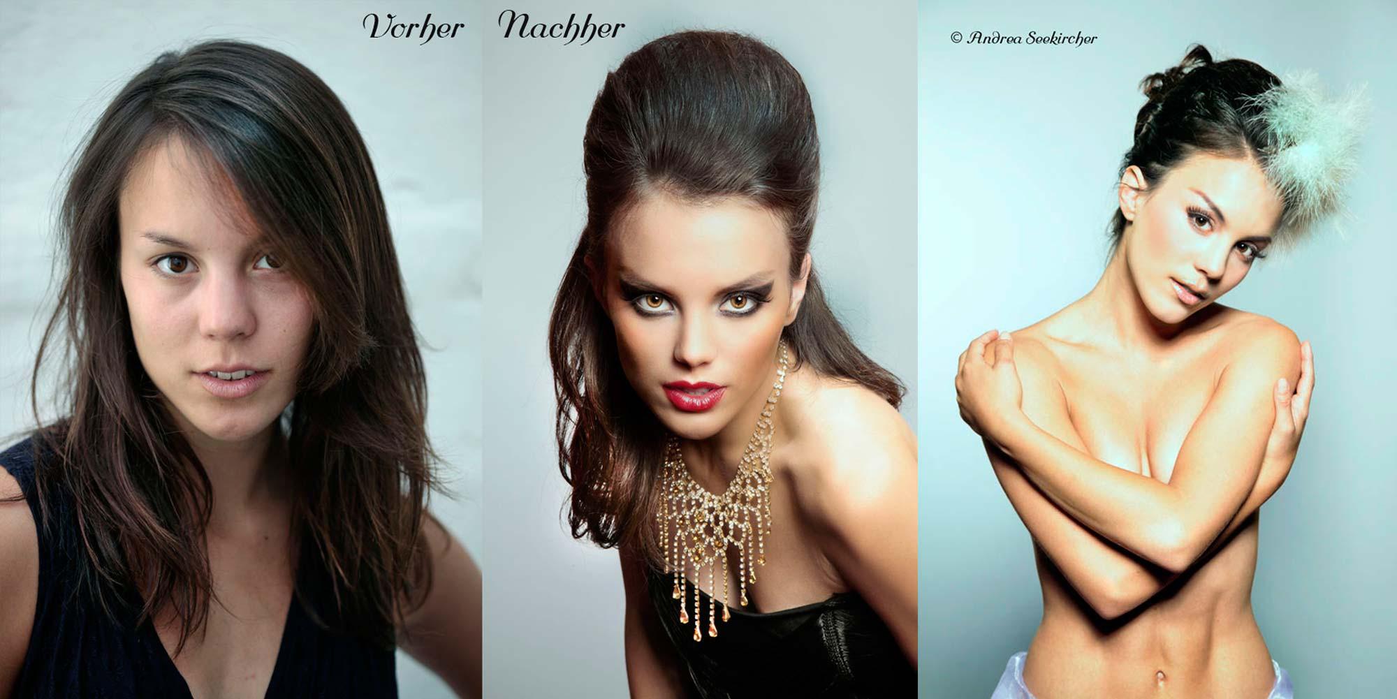 Vorher-Nachher-Glamour-Fashion