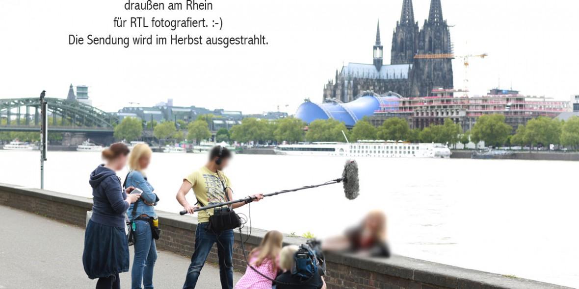 Fotografin Andrea Seekircher fotografiert für EXTREM SCHÖN für RTL2