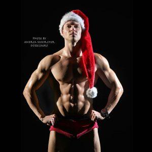 Sexy Weihnachtsmann-Fotoshooting-Düsseldorf-NRW