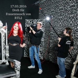 RTL2-Frauentausch-Extreme im Mietstudio Duesseldorf