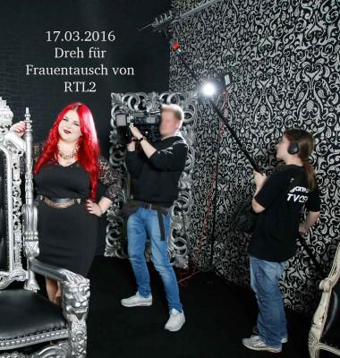 RTL2-Frauentausch 459 im Mietstudio in Duesseldorf mit Fotografin Andrea Seekircher