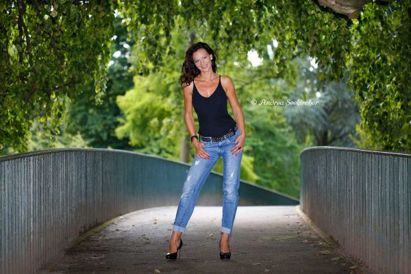 Outdoor-Fotoshooting-in Düsseldorf NRW