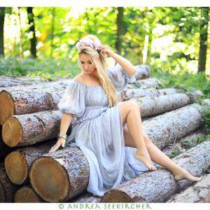 Wald-Fotoshooting
