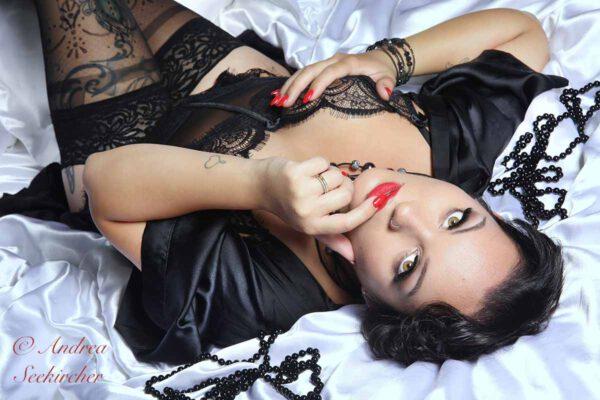 lingerie dessous fotoshooting dessousfotos